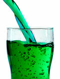 Irisches grünes Bier Stockbild