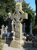 Irisches hohes Kreuz Stockfotografie