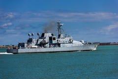 Irisches Patrouillenschiff L Ã-‰ Niamh P 52 dublin irland Stockfoto
