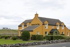 Irisches Restaurant und Gästehaus Stockbild