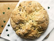 Irisches Soda-Brot Stockbilder