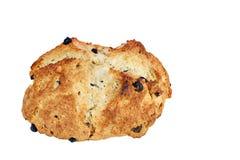Irisches Soda-Brot auf weißem Hintergrund Stockfotografie