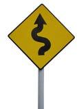 Irisches Verkehrszeichen stockfoto