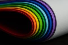 Iriserende kleuren van cellulair rubber royalty-vrije stock afbeeldingen