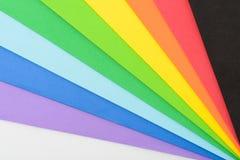 Iriserende kleuren van cellulair rubber stock afbeelding