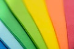 Iriserende kleuren van cellulair rubber royalty-vrije stock foto