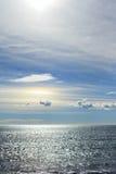 Iriserende wolk Stock Foto's
