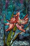 irises жизнь все еще Стоковые Фото
