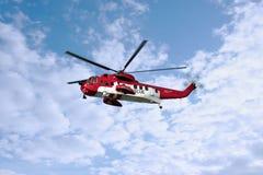 irish вертолета спашут море Стоковое Изображение
