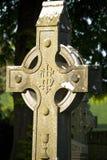 irish кельтского креста Стоковые Изображения