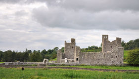 Irish abbey Royalty Free Stock Image