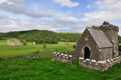 Irish abbey Royalty Free Stock Photo