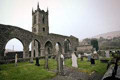 Irish Abbey Stock Image