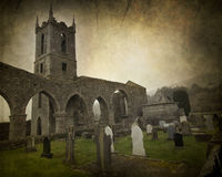 Irish Abbey Royalty Free Stock Photography