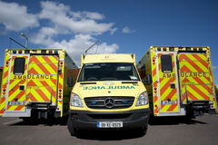 Irish Ambulance service Stock Photography