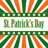 Irish background Stock Image
