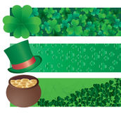 Irish banners Stock Photos