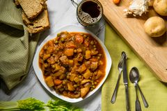Irish Beef Stew royalty free stock photography