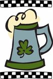Irish Beer Mug Royalty Free Stock Image