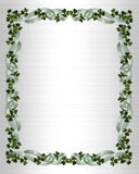 Irish border wedding invitation Stock Photo