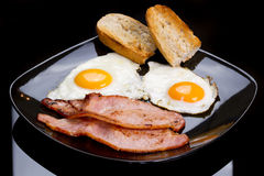 Irish breakfast Royalty Free Stock Image