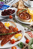 Irish breakfast Royalty Free Stock Images