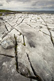 The Irish Burren. In Clare county Stock Images