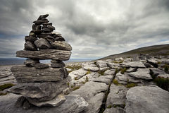The Irish Burren. In Clare county Royalty Free Stock Photo