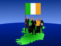 Irish business team Royalty Free Stock Photo