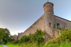 Irish Cahir castle in county Tipperary Royalty Free Stock Photos