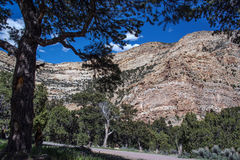 Irish canyon is a spectacular scenic drive canyon in northwestern Colorado royalty free stock photos