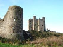 Irish Castle. Trim Castle County Meath Ireland Stock Photography