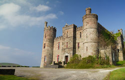 Irish castle. On the coast Stock Images