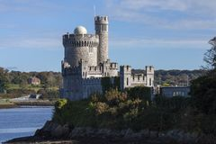 Irish Castle (Blackrock) Royalty Free Stock Photography