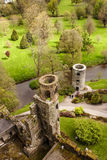 Irish castle of Blarney , famous for the stone of eloquence. Ire Stock Images