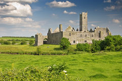 Irish castle in county clare, ireland Royalty Free Stock Photo
