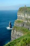 Irish Castle Moher Stock Photography