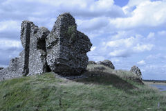 Irish Castle Ruins Stock Photography