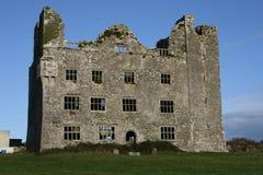 Irish castle ruins. 16th century Irish castle ruins in county Clare, Ireland Stock Photography