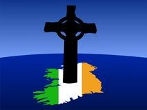 Irish Celtic cross Royalty Free Stock Photo