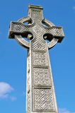 Irish celtic cross with celtic designs Royalty Free Stock Photography