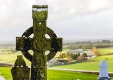 Irish celtic cross Stock Photos