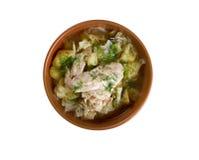 Irish chicken stew Stock Photography