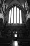 Irish church interior Royalty Free Stock Images