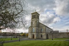 Church under a moody sky. Irish church with moody background Stock Photos