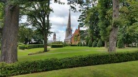 The irish church. A church in south ireland Stock Image