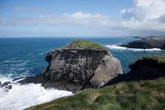Irish Cliffs Stock Photo
