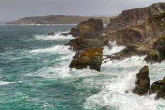 Irish cliffs at Mizen Head Royalty Free Stock Image