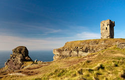 On irish Cliffs of Moher Royalty Free Stock Photos