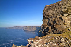 Irish Cliffs of Mother Stock Images